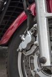 Scheibenbremse mit hydraulischem Antrieb lizenzfreies stockbild