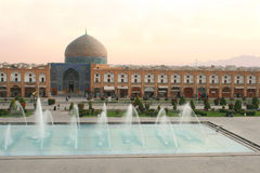 Scheich Lotf Allah Mosque, Isfahan, der Iran Stockfoto