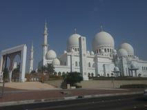 Scheich zaid Moschee stockfotos