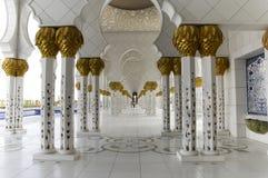 Scheich Zayed Al Nahyan Mosque - Abu Dhabi Lizenzfreies Stockbild