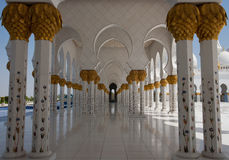 Scheich Zayed Grand Mosque Stockbild