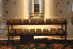 Scheich Zayed Grand Mosque Stockbilder