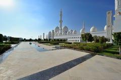 Scheich Zayed Grand Mosque Lizenzfreie Stockbilder