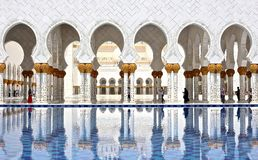 Scheich Zayed Grand Mosque Lizenzfreie Stockfotografie