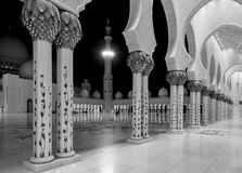 Scheich Zayed Grand Mosque Lizenzfreie Stockbilder