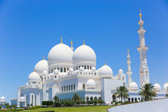 Scheich Zayed Grand Mosque Stockbilder
