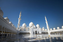Scheich Zayed Grand Mosque Abu Dhabi Lizenzfreies Stockbild