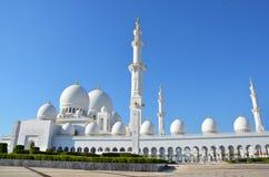 Scheich Zayed Grand Mosque Abu Dhabi Stockfoto