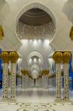 Scheich Zayed Grand Mosque, Abu Dhabi Stockfotos