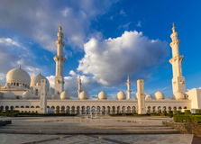 Scheich Zayed Grand Mosque, Abu Dhabi Stockbilder