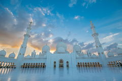 Scheich Zayed Grand Mosque, Abu Dhabi Stockfoto