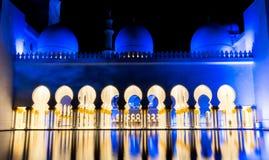 Scheich Zayed Grand Mosque, Abu Dhabi Lizenzfreie Stockfotografie