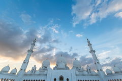 Scheich Zayed Grand Mosque, Abu Dhabi Stockfoto
