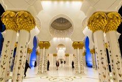 Scheich Zayed Grand Mosque, Abu Dhabi Stockbilder