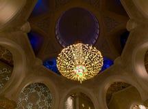 Scheich Zayed Grand Mosque, Abu Dhabi Stockbild