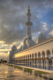Scheich Zayed Grand Mosque, Abu Dhabi Stockfotografie