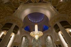 Scheich Zayed Grand Mosque, Abu Dhabi Stockfotografie