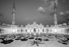 Scheich Zayed Grand Mosque, Abu Dhabi Lizenzfreie Stockfotos