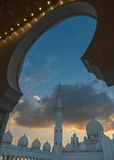 Scheich Zayed Grand Mosque, Abu Dhabi Lizenzfreie Stockfotos