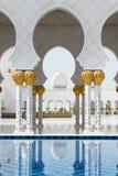 Scheich Zayed Grand Mosque in Abu Dhabi Stockfoto