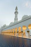 Scheich Zayed Grand Mosque in Abu Dhabi Lizenzfreie Stockfotografie