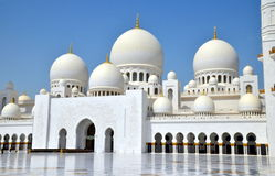 Scheich Zayed Grand Mosque, Abu Dhabi, UAE Stockbild