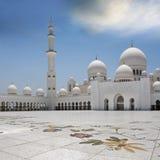 Scheich Zayed Moqsue Stockbild