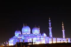 Scheich zayed Moschee in Abu Dhabi, UAE, Mittlerer Osten Stockfoto