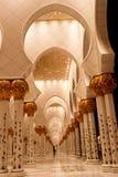Scheich zayed Moschee in Abu Dhabi, UAE, Mittlerer Osten Stockbild