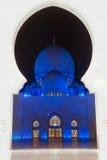 Scheich zayed Moschee in Abu Dhabi, UAE, Mittlerer Osten Lizenzfreie Stockfotografie