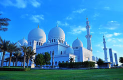 Scheich zayed Moschee, Abu Dhabi, uae, Mittlerer Osten Stockbild