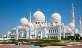 Scheich Zayed Mosque Stockfoto