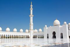 Scheich Zayed Mosque stockfoto