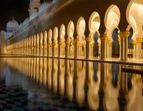 Scheich Zayed Mosque Lizenzfreie Stockfotos