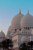 Scheich Zayed Mosque Lizenzfreie Stockbilder