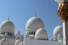 Scheich Zayed Mosque in Abu Dhabi Stockbild