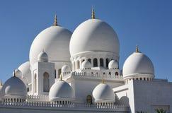 Scheich Zayed Mosque in Abu Dhabi Stockfotos