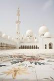Scheich Zayed Mosque in Abu Dhabi Stockfotografie