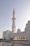Scheich Zayed Mosque in Abu Dhabi Lizenzfreie Stockbilder