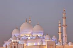 Scheich Zayed Mosque in Abu Dhabi, Lizenzfreie Stockbilder
