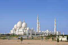 Scheich Zayed Mosque in Abu Dhabi Lizenzfreies Stockfoto