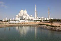 Scheich Zayed Mosque, Abu Dhabi Lizenzfreies Stockbild