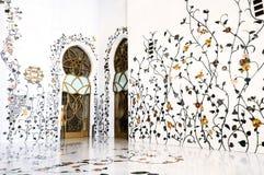 Scheich Zayed Mosque, Abu Dhabi, Stockfoto