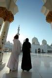 Scheich Zayed Mosque, Abu Dhabi Stockbild