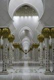 Scheich Zayed Mosque Abu Dhabi Lizenzfreies Stockbild