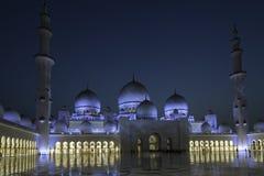Scheich Zayed Mosque Abu Dhabi Lizenzfreies Stockfoto