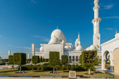 Scheich Zayed Mosque in Abu Dhabi Lizenzfreies Stockbild