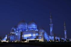 Scheich Zayed Mosque, Abu Dhabi Lizenzfreie Stockfotos