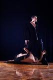 Scheiding - dansers in balzaal Royalty-vrije Stock Fotografie