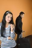 Scheiding met scheuren stock afbeelding